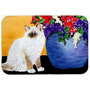 Caroline's Treasures Cat Ragdoll Kitchen/Bath Mat
