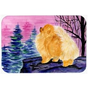 Caroline's Treasures Pomeranian Kitchen/Bath Mat