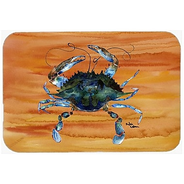 Caroline's Treasures Crab Kitchen/Bath Mat; 24'' H x 36'' W x 0.25'' D
