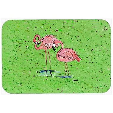 Caroline's Treasures Flamingo Kitchen/Bath Mat; 24'' H x 36'' W x 0.25'' D