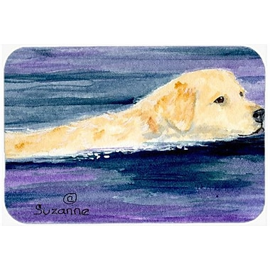 Caroline's Treasures Golden Retriever Kitchen/Bath Mat; 20'' H x 30'' W x 0.25'' D