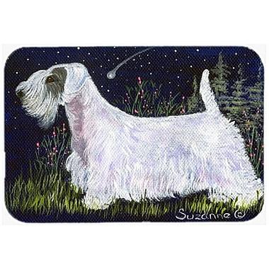 Caroline's Treasures Sealyham Terrier Kitchen/Bath Mat; 24'' H x 36'' W x 0.25'' D