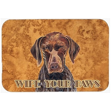 Caroline's Treasures German Shorthai Pointer Kitchen/Bath Mat; 24'' H x 36'' W x 0.25'' D
