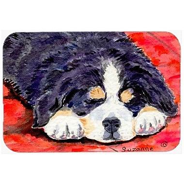 Caroline's Treasures Bernese Mountain Dog Kitchen/Bath Mat; 24'' H x 36'' W x 0.25'' D