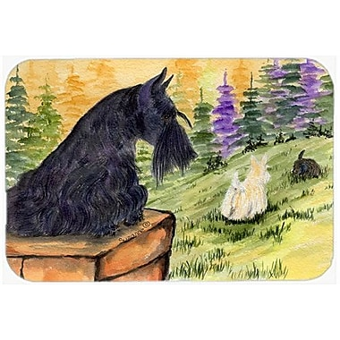 Caroline's Treasures Scottish Terrier Kitchen/Bath Mat; 20'' H x 30'' W x 0.25'' D