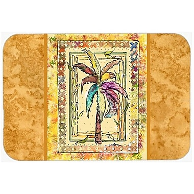 Caroline's Treasures Palm Tree Kitchen/Bath Mat; 24'' H x 36'' W x 0.25'' D