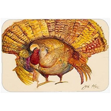 Caroline's Treasures Turkey Kitchen/Bath Mat; 24'' H x 36'' W x 0.25'' D