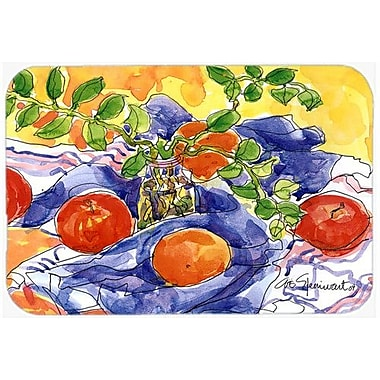 Caroline's Treasures Apples Kitchen/Bath Mat; 24'' H x 36'' W x 0.25'' D