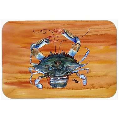 Caroline's Treasures Crab Kitchen/Bath Mat; 24'' H x 36'' W x 0.25'' D