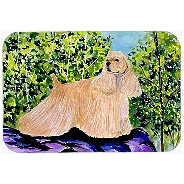 Caroline's Treasures Cocker Spaniel Kitchen/Bath Mat; 24'' H x 36'' W x 0.25'' D