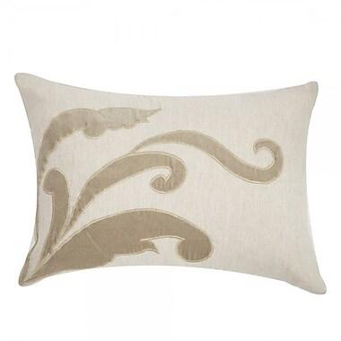 Filling Spaces Applique Linen Lumbar Pillow