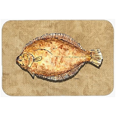 Caroline's Treasures Flounder Kitchen/Bath Mat; 24'' H x 36'' W x 0.25'' D