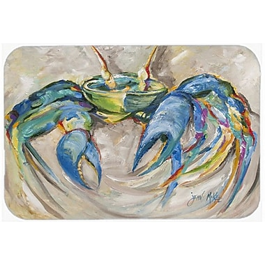 Caroline's Treasures Crab Kitchen/Bath Mat; 20'' H x 30'' W x 0.25'' D