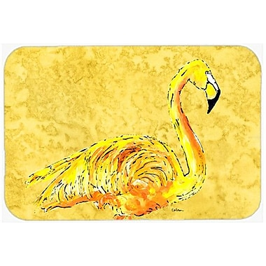 Caroline's Treasures Flamingo Kitchen/Bath Mat; 20'' H x 30'' W x 0.25'' D