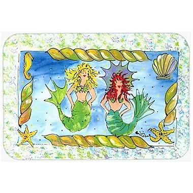Caroline's Treasures Mermaid Kitchen/Bath Mat; 20'' H x 30'' W x 0.25'' D