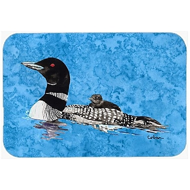 Caroline's Treasures Loon Kitchen/Bath Mat; 24'' H x 36'' W x 0.25'' D