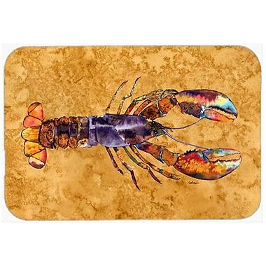 Caroline's Treasures Lobster Kitchen/Bath Mat; 24'' H x 36'' W x 0.25'' D