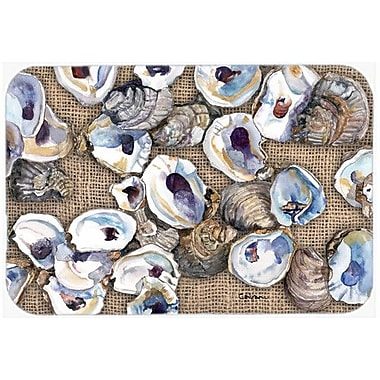 Caroline's Treasures Oyster Kitchen/Bath Mat; 24'' H x 36'' W x 0.25'' D