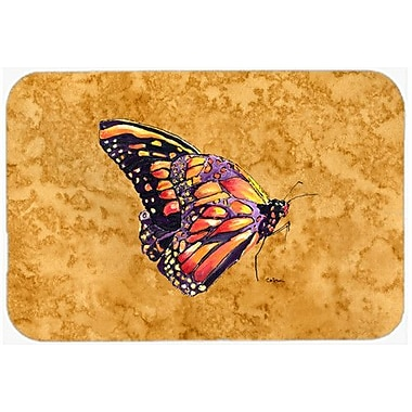 Caroline's Treasures Butterfly Kitchen/Bath Mat; 20'' H x 30'' W x 0.25'' D