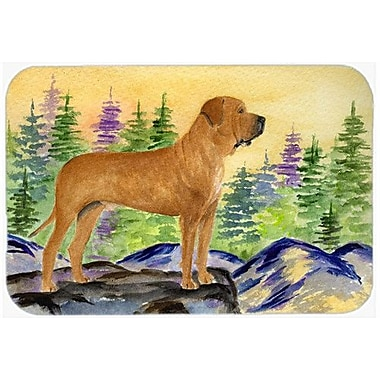 Caroline's Treasures Tosa Inu Kitchen/Bath Mat; 20'' H x 30'' W x 0.25'' D