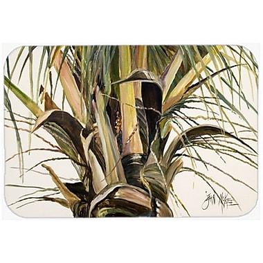 Caroline's Treasures Top Coconut Tree Kitchen/Bath Mat; 20'' H x 30'' W x 0.25'' D