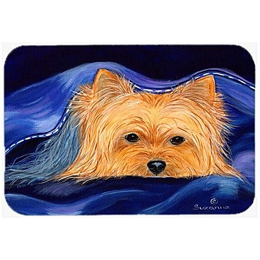 Caroline's Treasures Yorkie Kitchen/Bath Mat; 20'' H x 30'' W x 0.25'' D