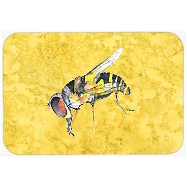 Caroline's Treasures Bee Kitchen/Bath Mat; 24'' H x 36'' W x 0.25'' D