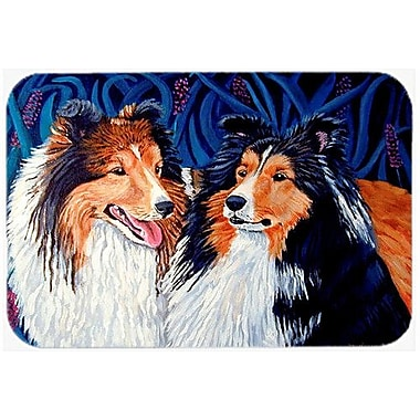 Caroline's Treasures Sheltie Kitchen/Bath Mat; 20'' H x 30'' W x 0.25'' D