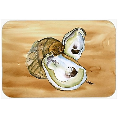 Caroline's Treasures Oyster Kitchen/Bath Mat; 24'' H x 36'' W x 0.25'' D
