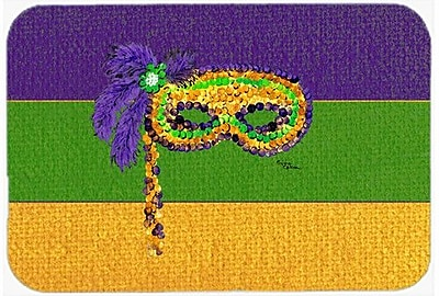 Caroline's Treasures Mardi Gras Kitchen/Bath Mat; 20'' H x 30'' W x 0.25'' D