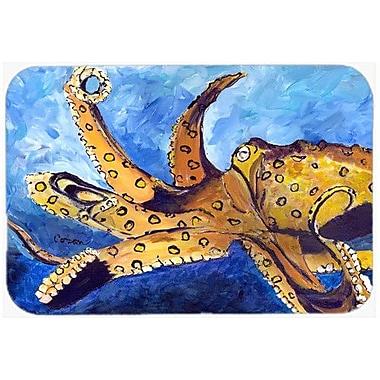 Caroline's Treasures Octopus Kitchen/Bath Mat; 24'' H x 36'' W x 0.25'' D