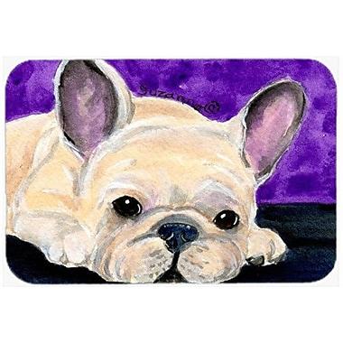 Caroline's Treasures French Bulldog Kitchen/Bath Mat; 24'' H x 36'' W x 0.25'' D