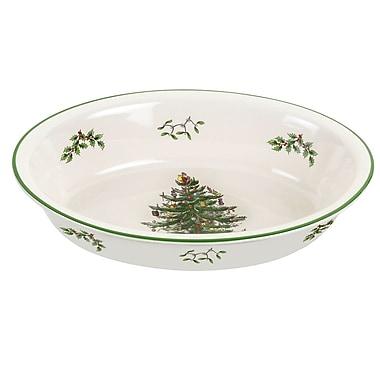 Spode Christmas Tree Serve Rim Dish
