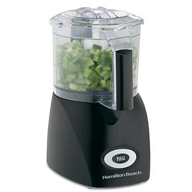 Hamilton Beach Ensemble 3 Cup Food Chopper in Black