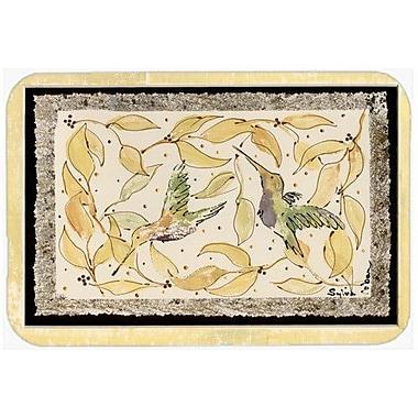 Caroline's Treasures Hummingbird Kitchen/Bath Mat
