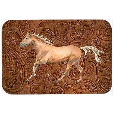 Caroline's Treasures Horse Kitchen/Bath Mat; 24'' H x 36'' W x 0.25'' D