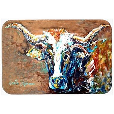 Caroline's Treasures On The Loose Cow Kitchen/Bath Mat; 24'' H x 36'' W x 0.25'' D
