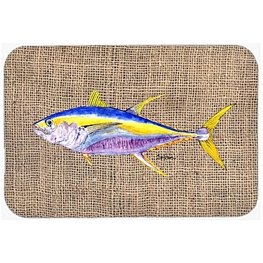 Caroline's Treasures Fish Tuna Kitchen/Bath Mat; 20'' H x 30'' W x 0.25'' D