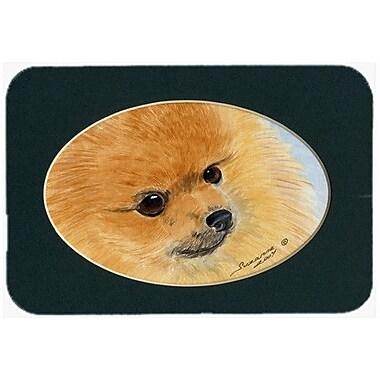 Caroline's Treasures Pomeranian Kitchen/Bath Mat; 20'' H x 30'' W x 0.25'' D