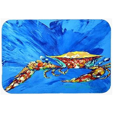Caroline's Treasures Big Spash Crab Kitchen/Bath Mat; 24'' H x 36'' W x 0.25'' D