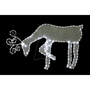 Woodland Imports Grazing Reindeer Lighted Display