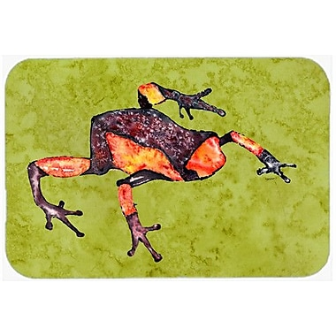 Caroline's Treasures Frog Kitchen/Bath Mat; 20'' H x 30'' W x 0.25'' D