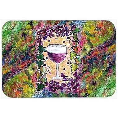 Caroline's Treasures Wine Kitchen/Bath Mat; 24'' H x 36'' W x 0.25'' D