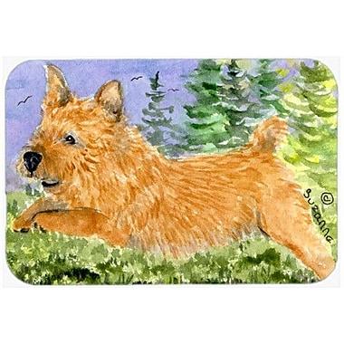Caroline's Treasures Norwich Terrier Kitchen/Bath Mat; 20'' H x 30'' W x 0.25'' D