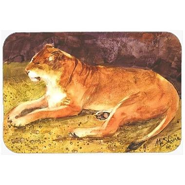Caroline's Treasures Lion Kitchen/Bath Mat; 24'' H x 36'' W x 0.25'' D