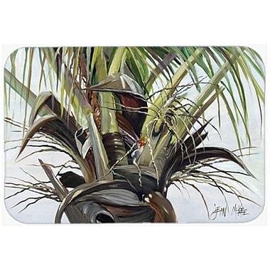 Caroline's Treasures Top Palm Tree Kitchen/Bath Mat; 24'' H x 36'' W x 0.25'' D