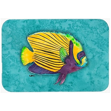 Caroline's Treasures Fish Tropical Kitchen/Bath Mat; 24'' H x 36'' W x 0.25'' D