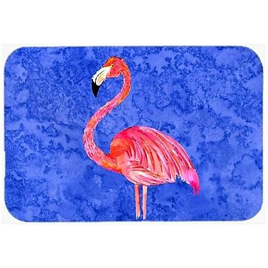 Caroline's Treasures Flamingo Kitchen/Bath Mat; 20'' H x 30'' W x 0.25'' D