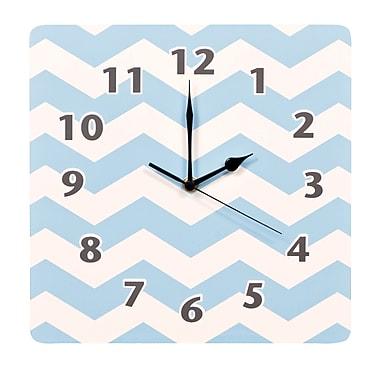Trend Lab Blue Sky 11'' Chevron Wall Clock