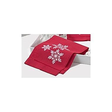 Saro Snowflake Hand Towel (Set of 4)
